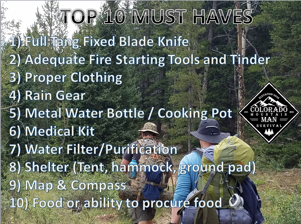TOP 10 MUST HAVES