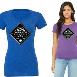 Womens Tri-Blend CMM Survival T-shirt