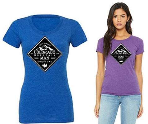Womens Tri-Blend CMM Survival T-shirt