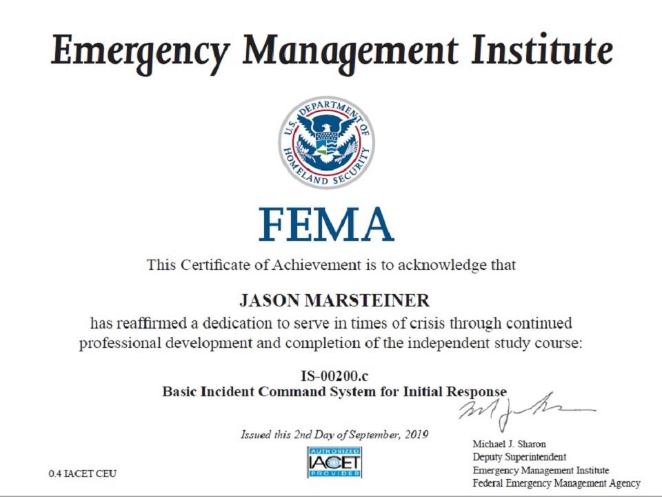 FEMA IS-00200c